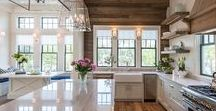 Kitchens / The heart of every home is in the kitchen, where Thanksgiving meals are prepared and Sunday brunches are spent. These kitchens bring a variety of ideas to the table and add style to such a fundamental piece of the home.