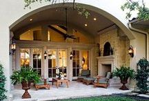 Outdoor Decor / Bringing the home outside to enjoy nature in luxury.