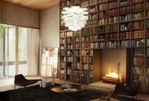 Home Libraries / Calling all bibliophiles (lovers of books)- these spaces will make you want to curl up with your favorite novel and take some well-deserved time for relaxation.