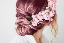 pink hair don't care / Cheveux, hair, hairstyle, pink, rose, coloration, color, inspiration, look, girl, princesse, princess, pink haire don't care, fun
