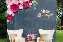 Wedding  / Wedding, mariage, inspiration, bohème, fleurs, flowers, love, bougies, yes, wedding dress, happyness, Plan de table, idées, décoration, deco, cérémonie laïque