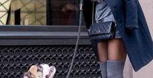 tenues shooting photo PetsoChic Feb 2018 / tenues femmes avec chiens