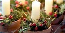 Noël **DIY** / Pour vos #FÊTES de #NOËL rien de tel que quelques techniques #DIY pour un CENTRE de #TABLE, un #SAPIN, ou une CHIC #DECO D'INTERIEUR ***** Idyllique, Magique et Chaleureuse. Voici rien que pour vous les #SECRETS de #BRICOLAGE de Petites Pépites. <3