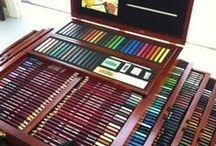 ´lapis para desenhar e colorir