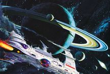 Outer space art