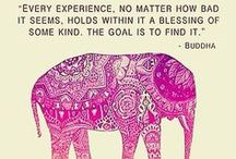 mantras + inspiring words