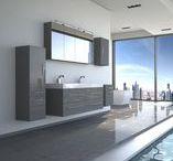 Badmöbelset DUBAI / Badmöbel Set DUBAI - großzügige Klarheit erleben Tauchen Sie ein in ein Pflegeerlebnis der besonderen Art. Mit der Badezimmereinrichtung DUBAI wird auch aus Ihrem Bad ein Bereich von Ruhe, Entspannung und hochwertigem Komfort.