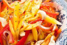 Salads / Pasta Salad Recipes / Boring Salads no more - salad recipes for every season, tasty dressings, pasta salads, picnic salads, warm or cold salads....