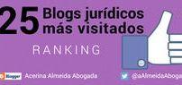 25 Blogs jurídicos más visitados - Ranking / A continuación, el ranking de los blogs jurídicos españoles más visitados del mundo, obtenido de los datos que facilita Alexa.  Alexa rastrea masivamente la red recopilando información sobre más de 3.500 millones de páginas web, proporcionándonos el Alexa Rank, que nos indica el lugar que ocupa una web en el ranking de visitas en internet en los tres últimos meses.
