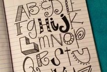 Typography / by Becky