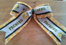 Pyper and now Phoebe are Packer girls! (Georgian Heights that is) / My girls cheer for the Georgian Heights Packers we love the Green, Gold and White!