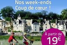 Week end insolite / Vivez un week-end inédit dans un hébergement insolite en Anjou : confortable cabane dans les arbres, roulotte de charme, gite troglo, bateau habitable...