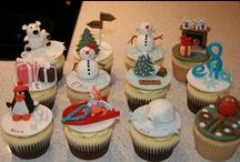 Cool Cookies and Cupcakes / professionaly done or looking cookies and cupcakes / by Lisa Gniech
