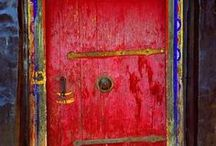 DOORS 2: Pink, Purple & Red / by Jeanette