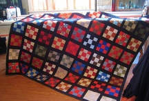 Mid Arm and longarm Quilting / My husband has been so good to me. Buying me my mid arm Juki and my Hinty quilting frame and a zillion other little dodads that go along with quilting. I love using this thing and have a stack of quilts ready to go to work on. I am such a blessed old gal. / by Gwenandchuck Milledge