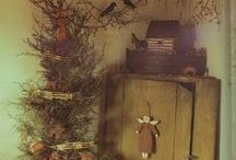 Christmas Old Thyme / Oh primitive Christmas, thou blesses my soul and stirs such fond memories! Let the festivities begin! / by Gwenandchuck Milledge