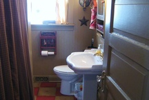 prim bath ideas / It seems there aren't enough primitive bath ideas out there. I look and look but these pictures are few and far between! / by Gwenandchuck Milledge