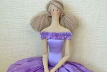 Tilda Type Dolls / by Joanne Cranston