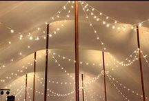 String Lights, Cafe Lighting, Bistro Lighting / We do more Cafe String Lights and Market Bistro Lights for weddings, receptions, and events than anyone!