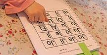 Kinder - Lernen und Fördern / Fördermaterial, Lesen lernen, Feinmotorik, Physiotherapie, Logopädie, Frühförderung, Vorschulmaterial, Montesorie