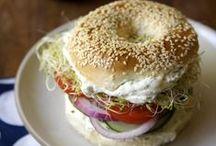 eat: a sandwich / by Bonnie Granek