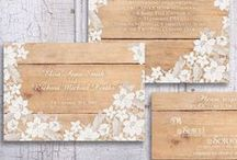 Wedding Stationary / Save The Dates, Wedding Invitations & Other Paper Details
