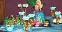 Party: Unterwasser-, Meerjungfrauen Party / Ein Unterwasser Mottoparty zum Kindergeburtstag geht für Jungen und Mädchen, ob Nixen, U-Boote, Meerjungfrauen, Nemo oder Piraten, alle gehören zum Meer dazu