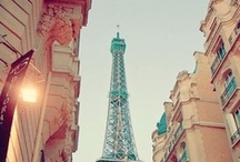 """Can we go to Pairs Or France??? / Before I realized Pairs was IN France, I asked """"Can we go to Pairs Or France???"""" and was then informed Pairs is IN France… Dreaming of the world at a very YOUNG age.  / by Rachel Watt"""