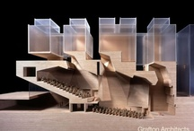 architecture - models / by Neille Hepworth