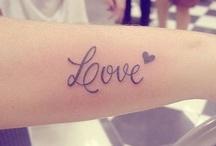 Tattoos / by Adriene Jones