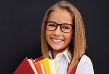 Kids' Eyewear / Affordable, durable, trendy eye glass frames for kids!