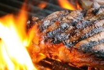 Food: Summertime Grilling / Fire up the grill for some delicious summer eats. Grill chicken, steak, corn, potatoes - all kinds of recipes and new ideas