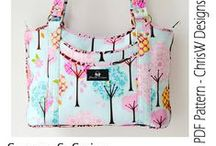 My Bag Patterns! / Don't you just LOVE handbags? Imagine being able to make handbags and purses that are unique to YOU and exactly the style, colour, size and shape that YOU want them to be? ChrisW Designs range of designer bag patterns will help you to do just that! Nobody will believe you made them yourself!