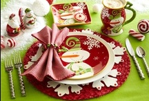 Happy Holidays - Christmas - Entertaining / Christmas entertaining such as food and tablescapes and some decorations for a party or buffet (but I have another Christmas board for decorations) / by Brenda Lester