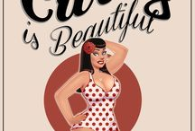 Dangerous curves ahead / Giving some big gals like myself some love  / by Jennifer Fox