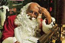 Christmas-Santas / by Carole Sklenar