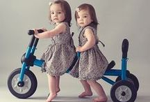 Kids on Bikes (and Trikes) / Is there really anything cuter than a little kid on his or hers first bike?  We think not!