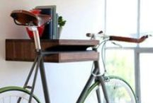 Bike Storage / Storing your large bike can get tricky. Here are some great storing ideas for the large or small space.