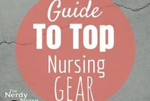 Products for Nurses - Nursing Gear / Nurse can go to work prepared with proper scrubs, shoes, stethoscopes, badge reels, accessories, jewelry, and other nursing uniform options. These pins will help you be a successful, comfortable and safe nurse. These are also great resources for nursing school.