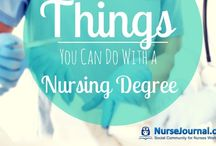 Nursing School and Education / Pins for future nursing students, current nursing students, and current nurses who want to keep their knowledge and skills sharp.