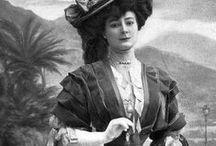 Edwardian Era ~ 1890s - 1908 / Historical Fashion