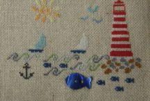 Cross stitch - Summer