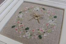 Cross stitch - Spring