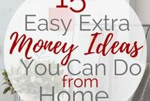 Make Extra Money From Home / Find New ways to stay home and make money online each and everyday!