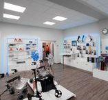 Shopfitting - Medical supply store by OBV / #Shopfitting #Ladenbau #interior #interiordesign #medicine #doctor #obv #objektbau #bomers #vreden #design #architecture #medical #supply #store