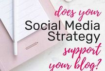 Social Media Marketing / Social media marketing tips for 2018 to grow your blog. Cheat sheets for Instagram, Facebook, Twitter and Youtube strategies. Choosing social media tools and schedulers.