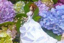Dollhouse doll Brides