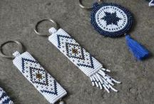 Beaded Keychains