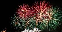 Fireworks in Szczecin