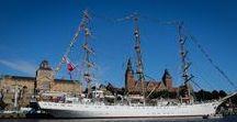 Sailing ships at TSR Szczecin 2017